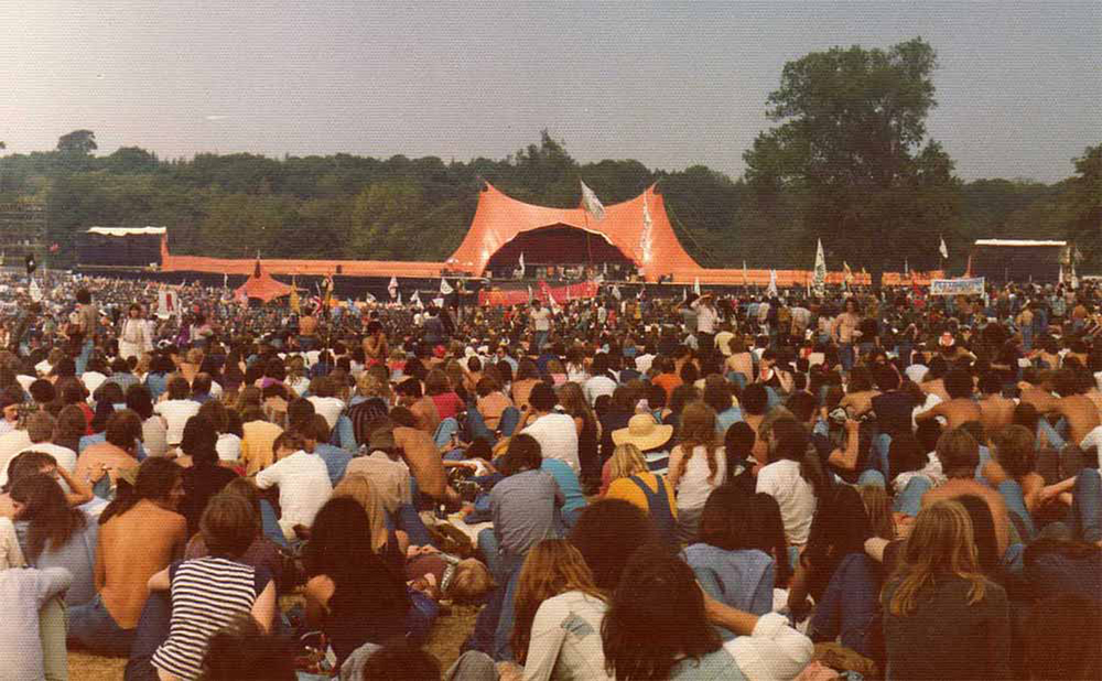 Rolling Stones at Knebworth 1975