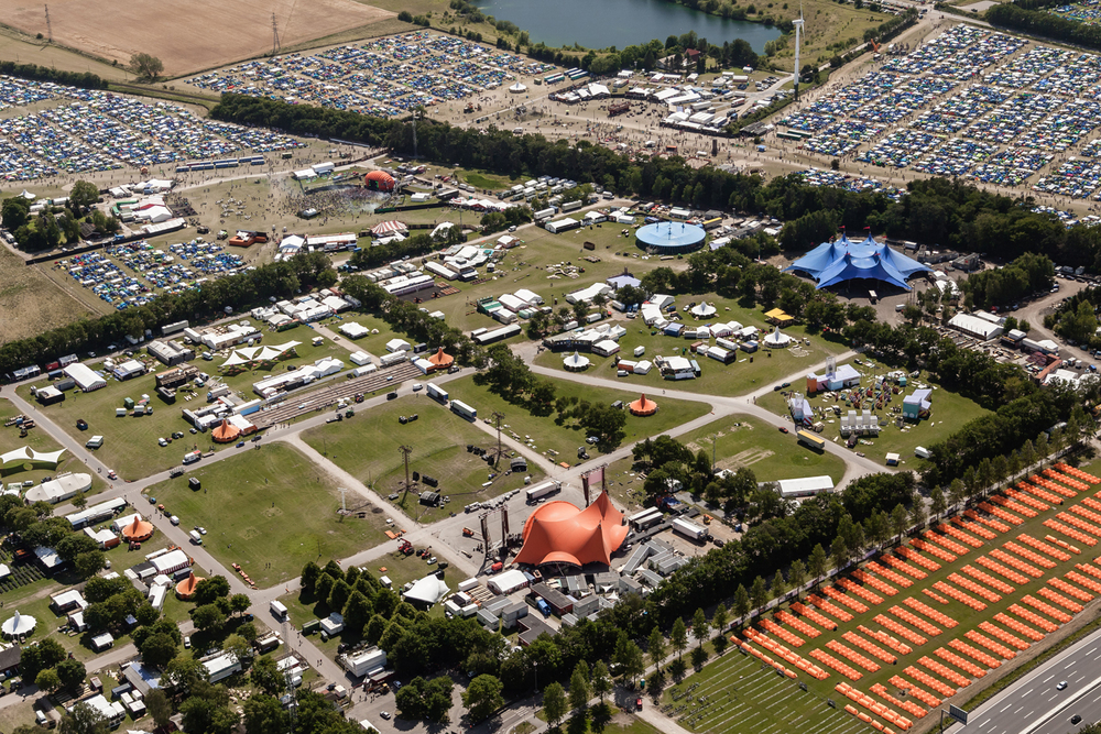 Backstage and festival areas 2015