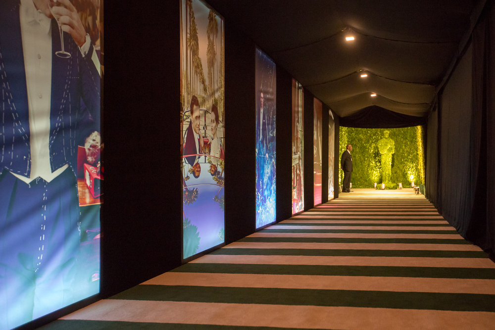 Entrance corridor to Red Carpet - 2015