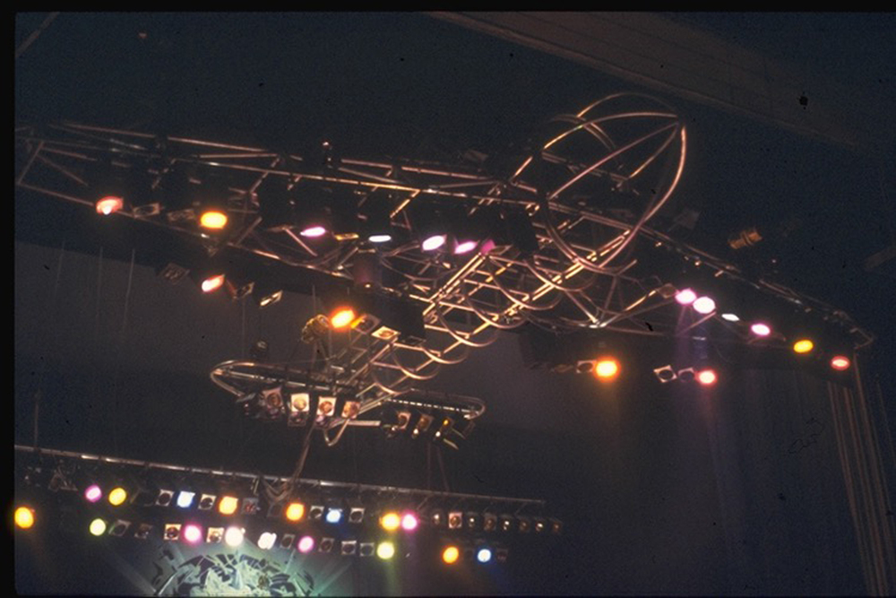 Motorhead - Bomber Tour - Lighting truss