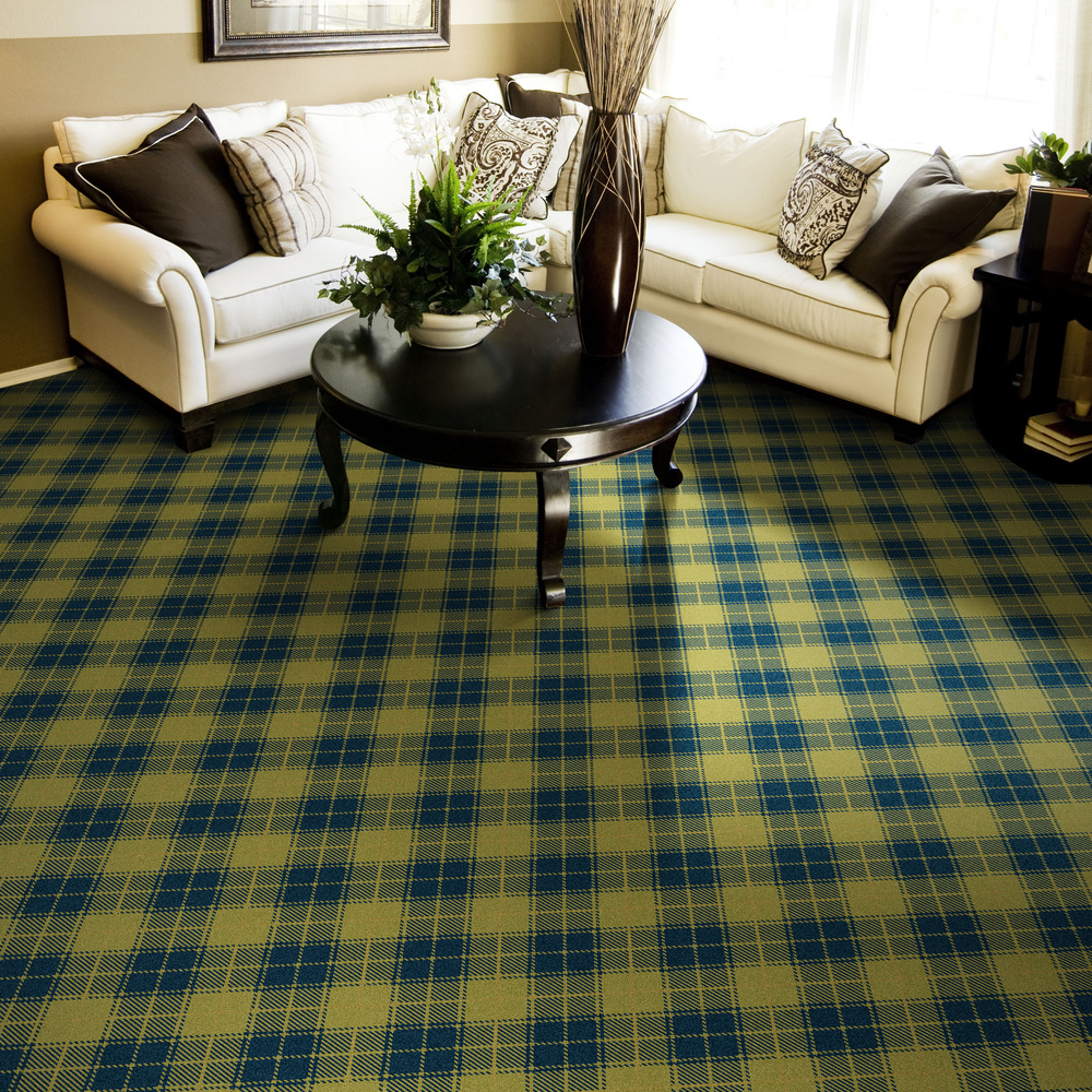 "Pattern # 5511                                                            Pattern Name: Twisted Tartan  Pattern Repeat: 18"" x 18""  In Stock"
