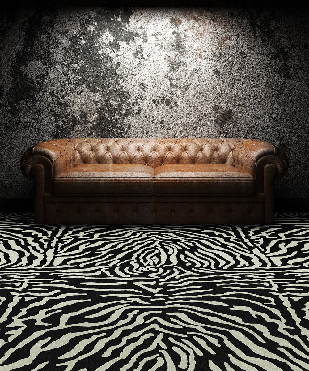 "Pattern # 5492                                                            Pattern Name: Giant Zebra  Pattern Repeat: 72"" x 72""  In Stock"
