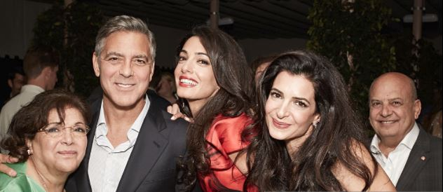 Akram Miknas and George Clooney.JPG