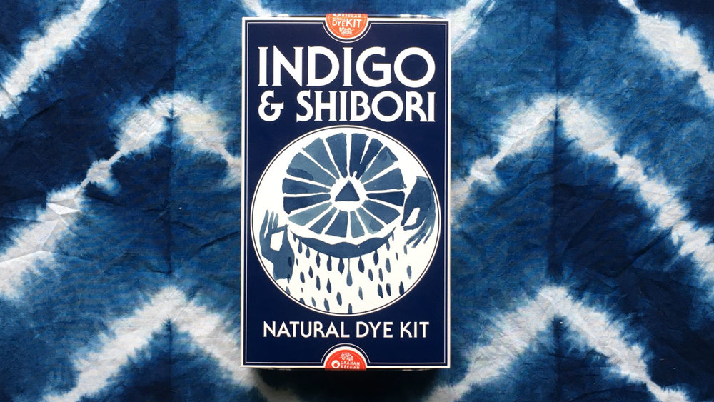 Natural Dye Kit Indigo Shibori