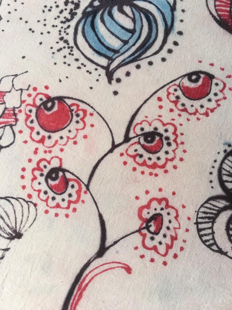 Pattern by Hand 102 : Indigo, Madder, Goldenrod and Tannin