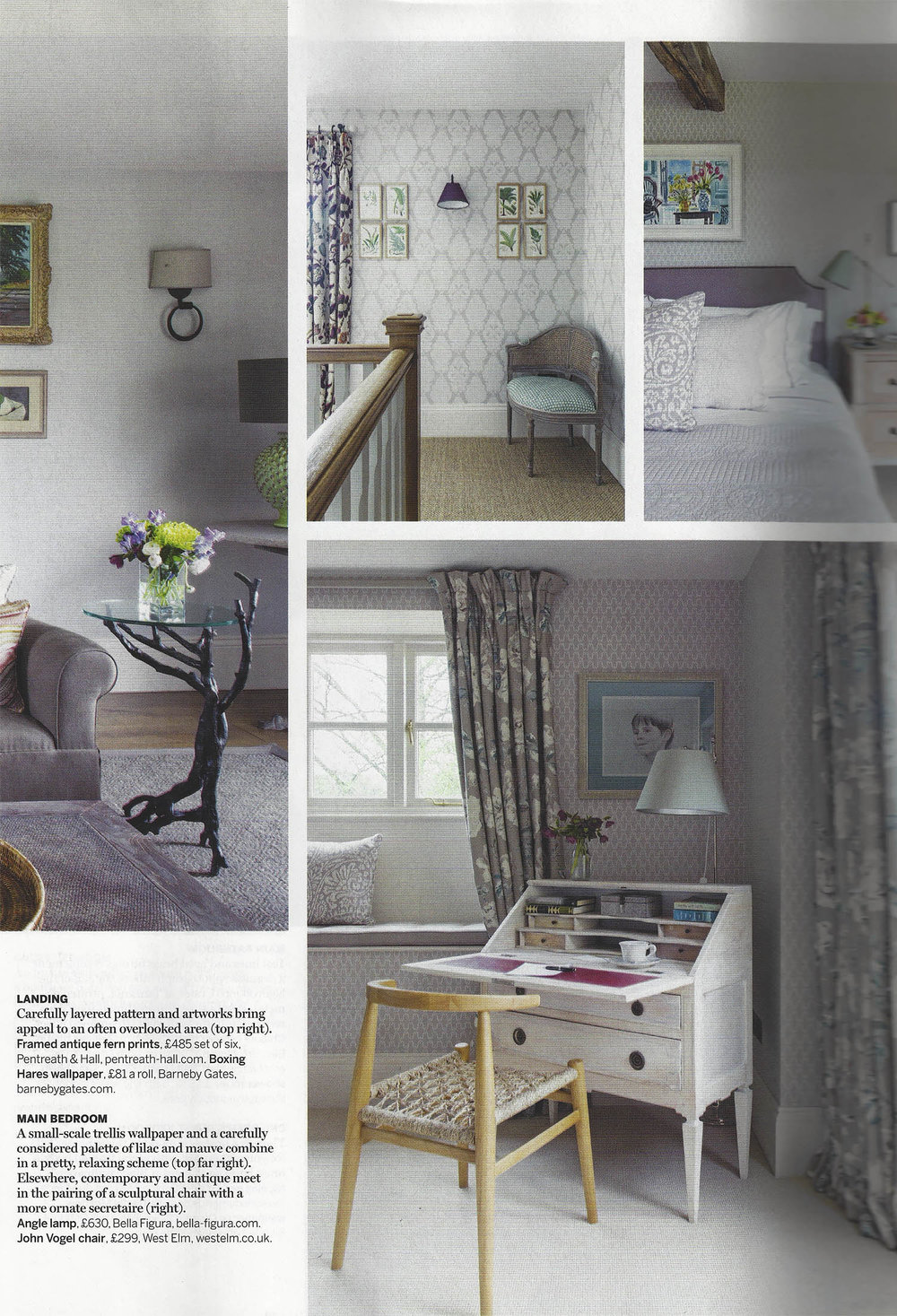 House & Gardens - Feb 2017 - 'Inspired by Block Prints' - Page 88 - 89 - Cushion - Pomeroy-2.jpg