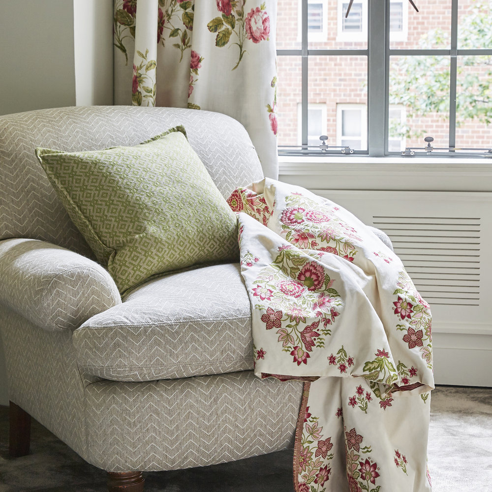7.Blithfield - The Winthrop Collection  - Colby - Natural Sofa - Amesbury - Green Cushion - Simsbury - Rose Green Curtains Aylesbury - Rose Green Throw B_Third.jpg