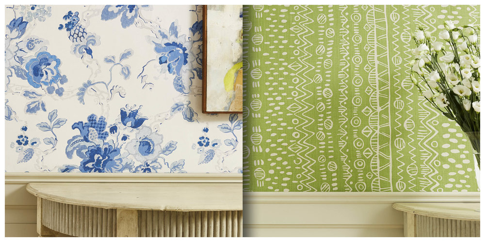 - New Fabrics & Wallpapers available atChelsea Harbour, London
