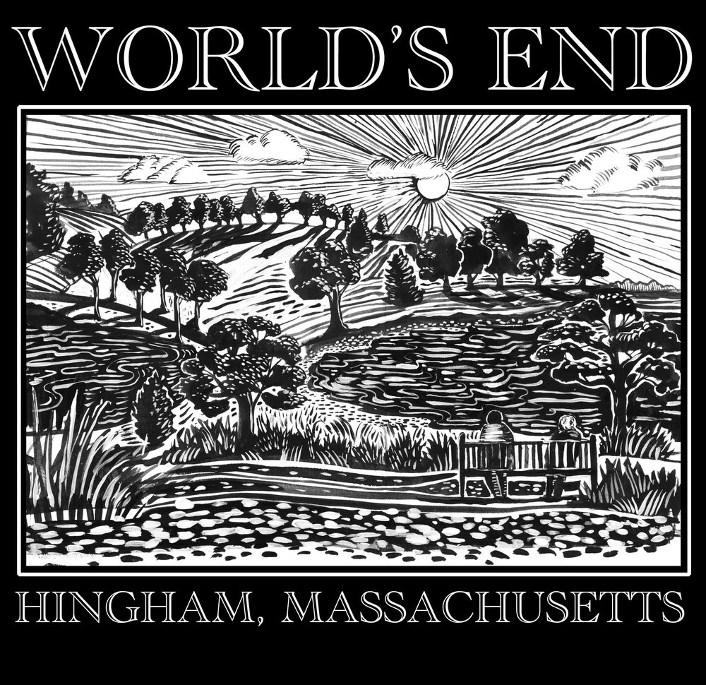worlds end tee shirt design