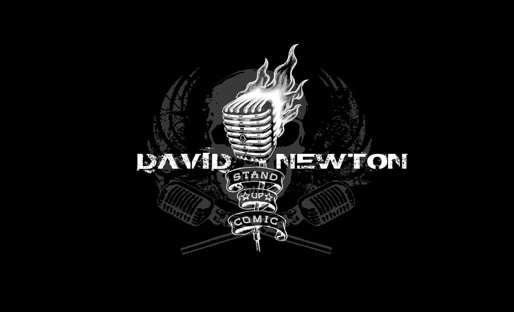 David Newton stand up comedy comedian logo black.jpg