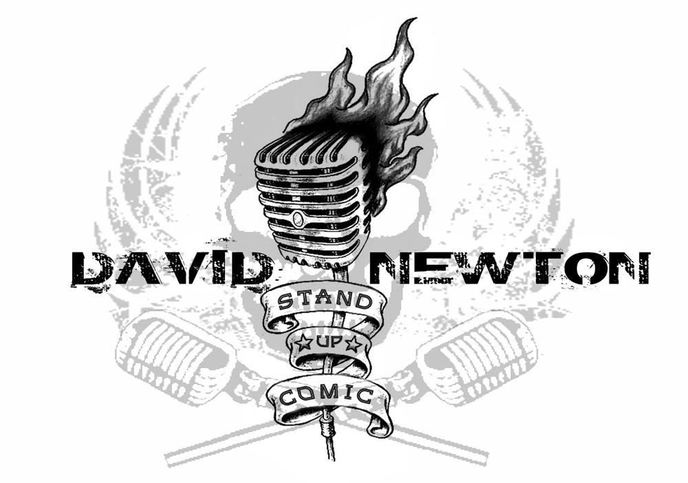 David Newton stand up comedy comedian logo white.jpg