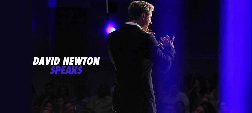 David Newton motivational speaker