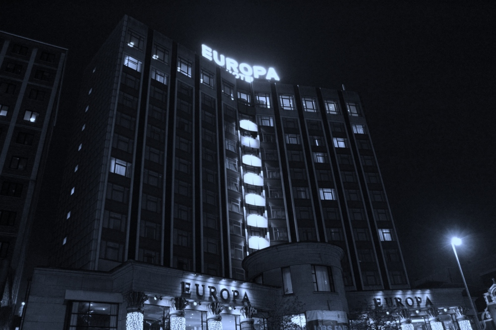 Europa Hotel, Belfast.  Photo by Jack Driver.