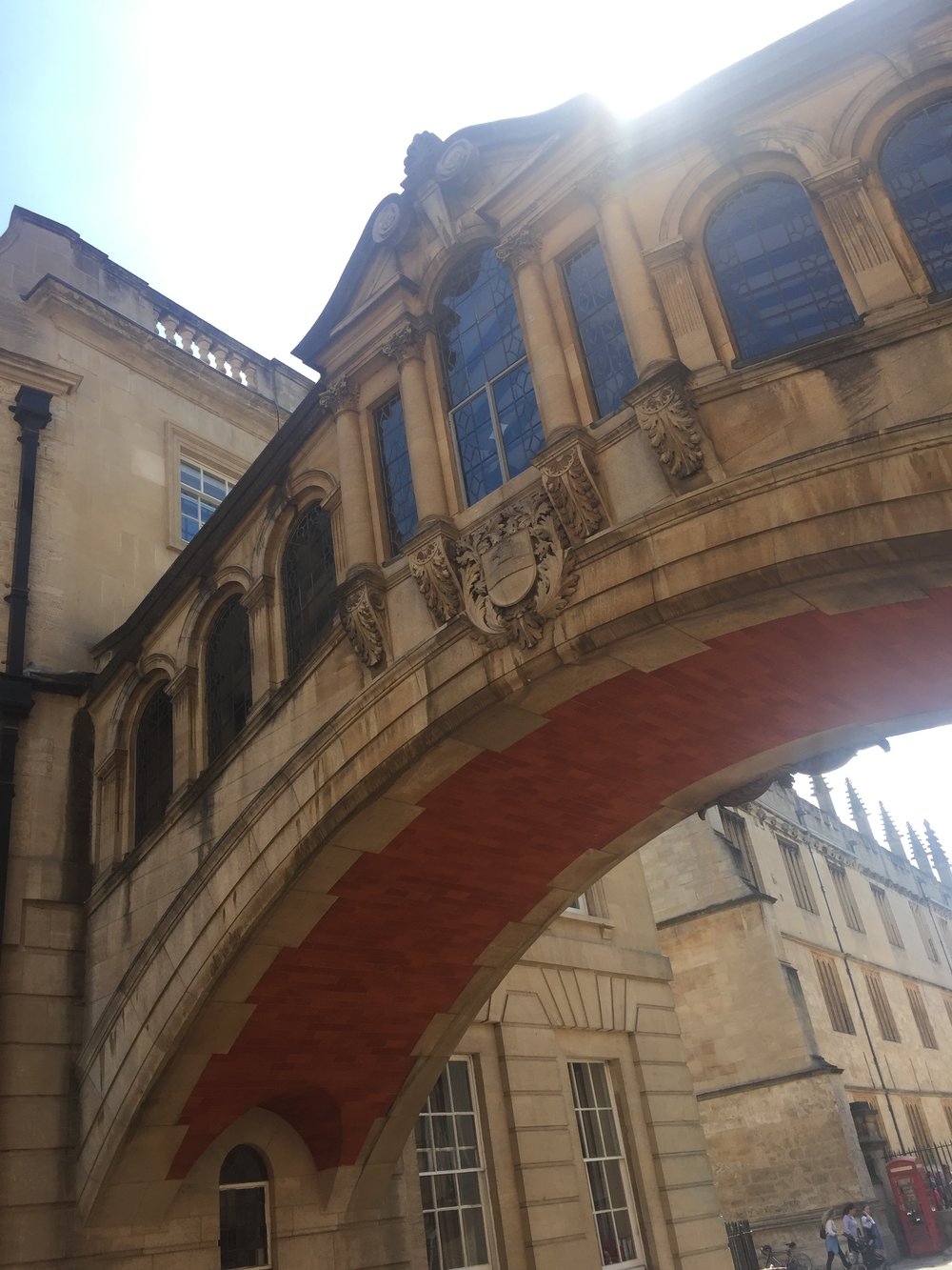 Bridge of Sighs, Oxford.