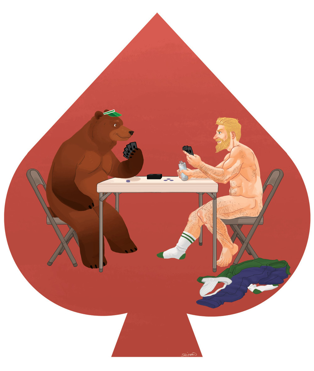 """Poker Night"" by Cody Shipman, Available on Red Bubble"