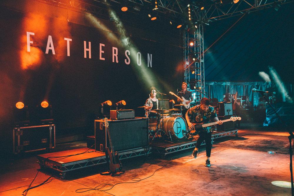 Fatherson, Reading Festival