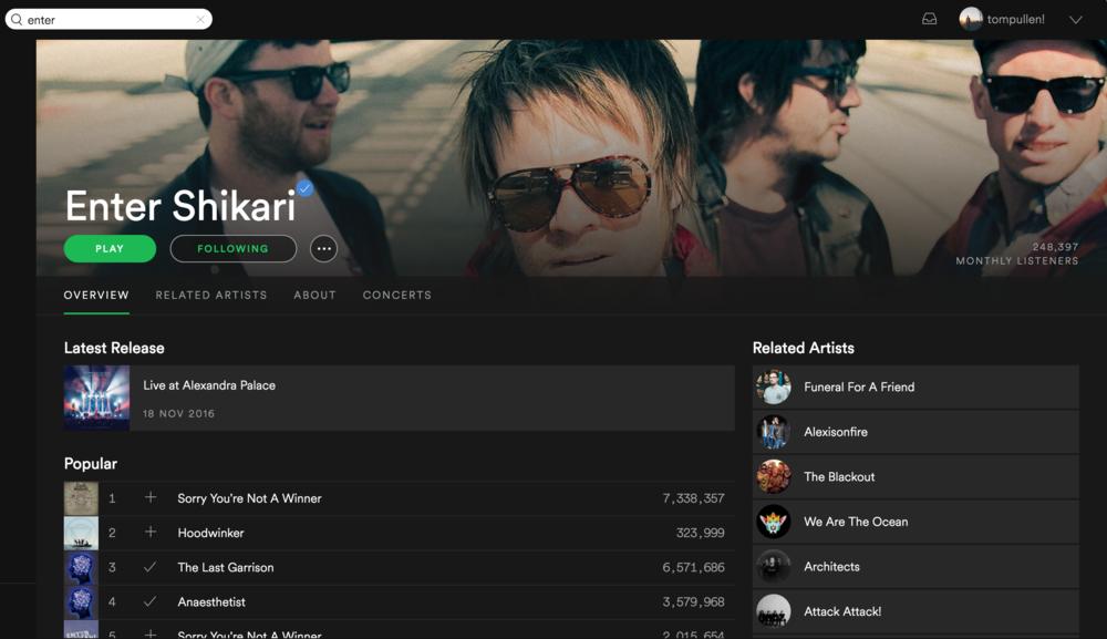 Enter Shikari / Spotify