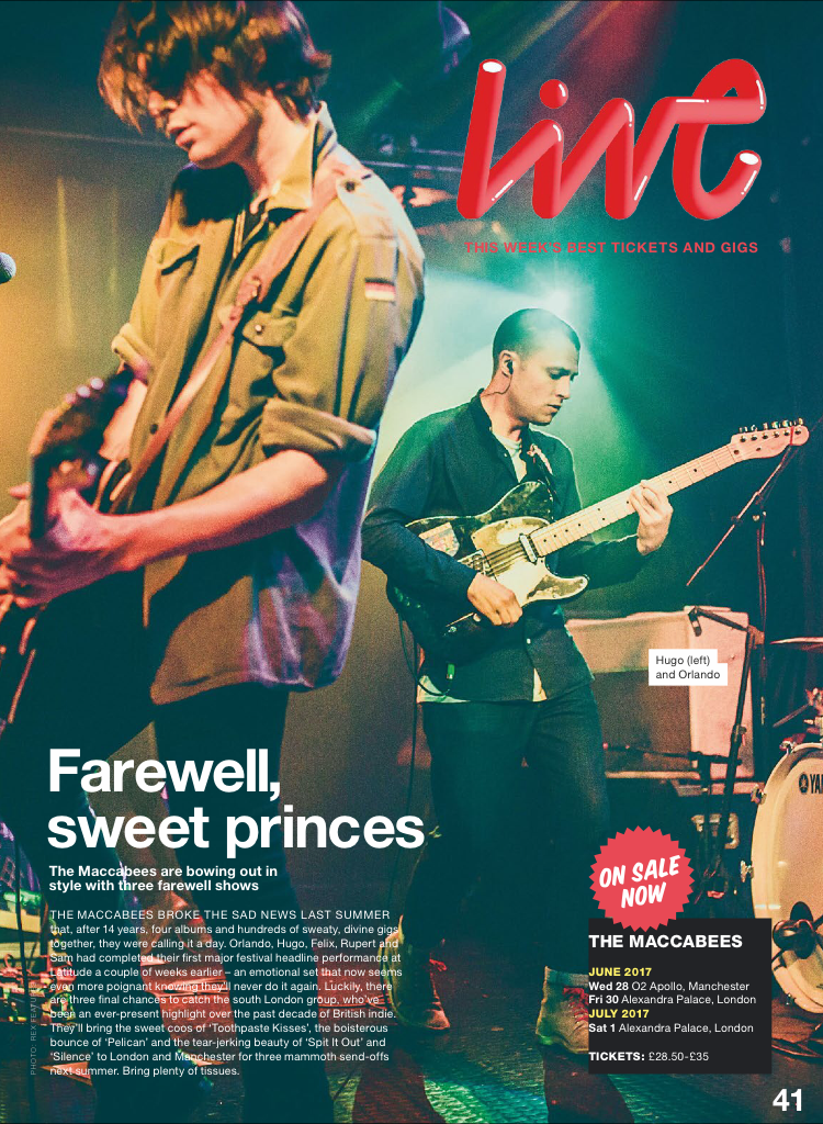 The Maccabees / NME