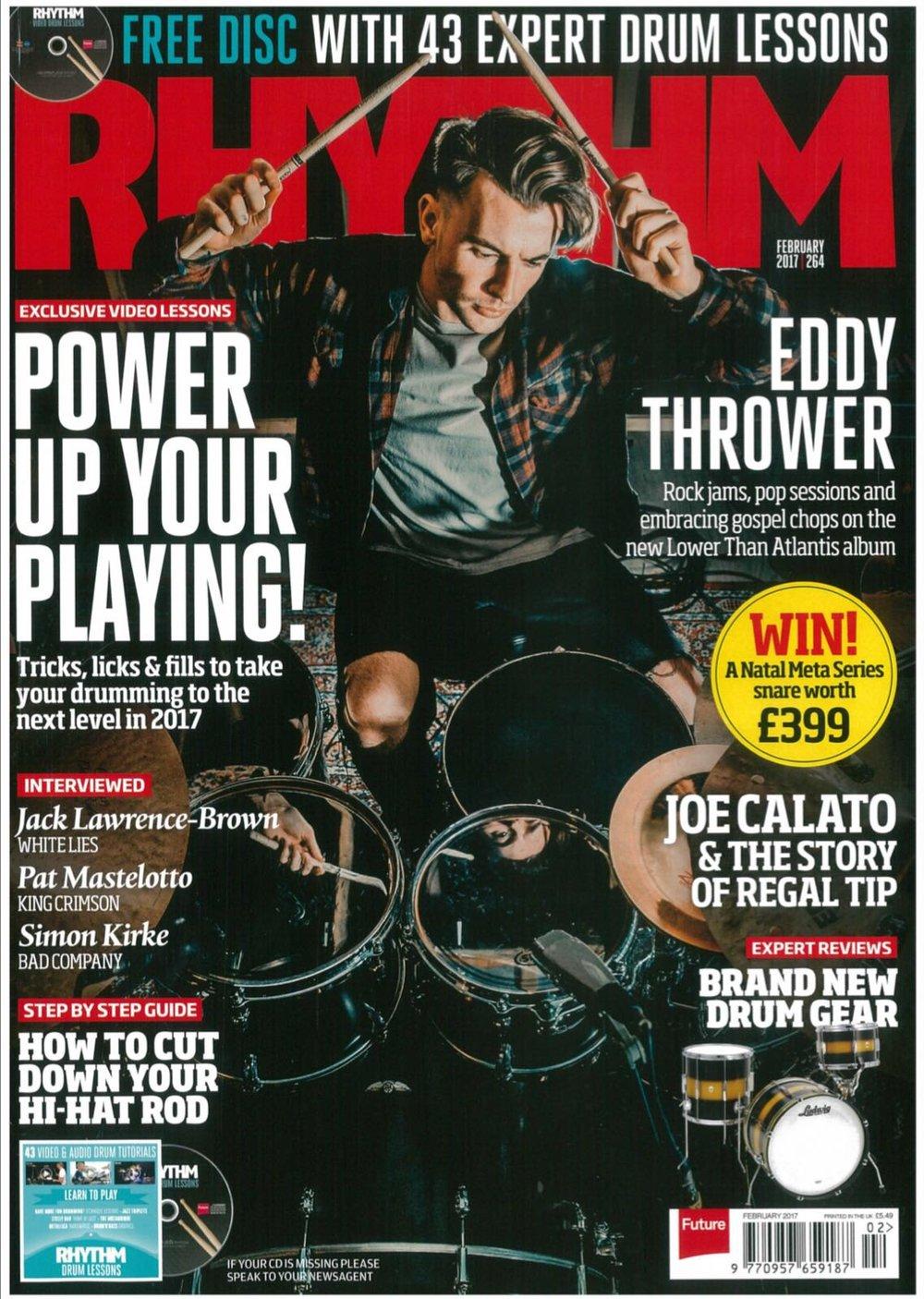 Eddy Thrower (LTA) / Rhythm Magazine