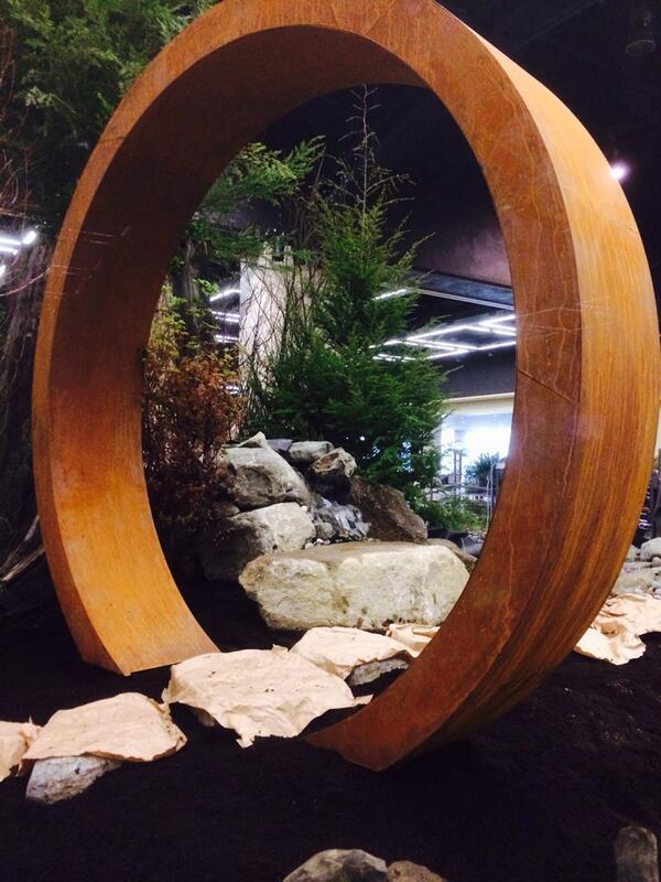 """""""Moon Gate"""" in the """"Nature's Studio"""" Display Garden"""