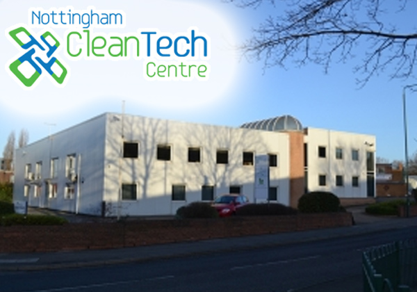 November 11th, 2013 Chinook flies the flag for the Nottingham cleantech community