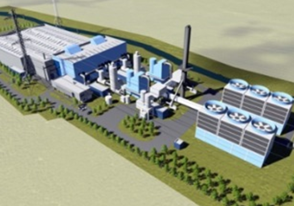 Image of Chinook's planned gasification plant in Dagenham