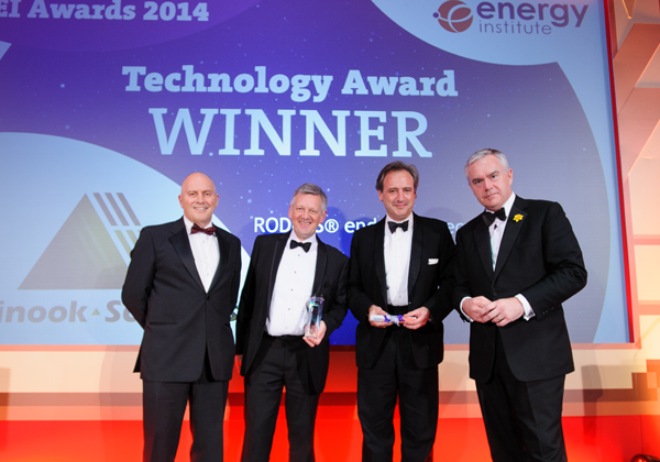 25th November, 2014 Chinook Sciences Wins Prestigious Energy Institute Technology Award for RODECS®