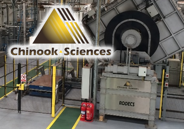 2018  Chinook converted its Nottingham development facility into a plant for the commercial production of activated carbon using its own RODECS technology with the ability to demonstrate hydrogen capture at high concentrations.