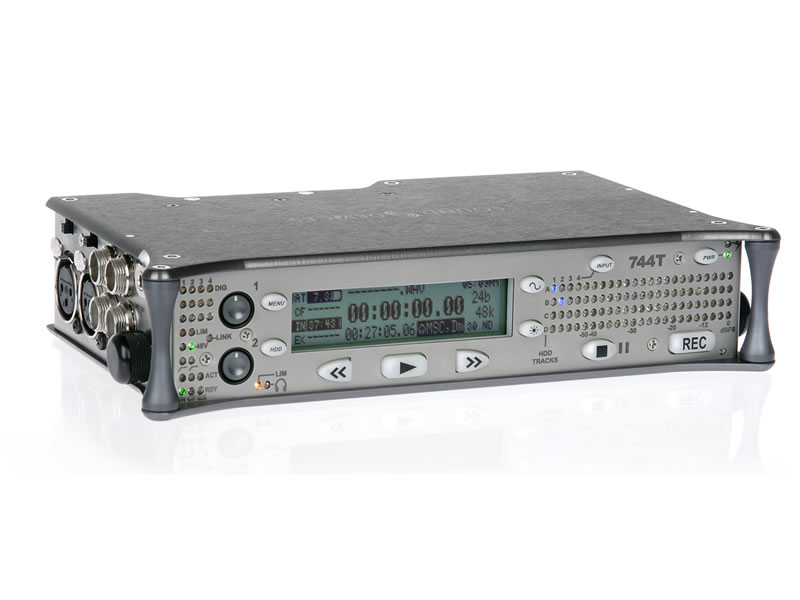 Sound Devices 744T   4-track Digital Audio Recorder