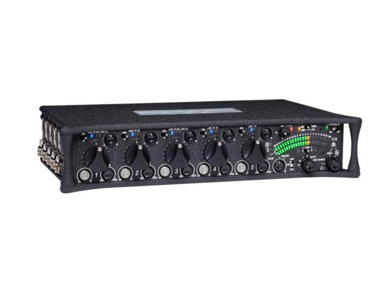 Sound Devices 552   5-channel Field Mixer with Integrated 2-track Digital Audio Recorder
