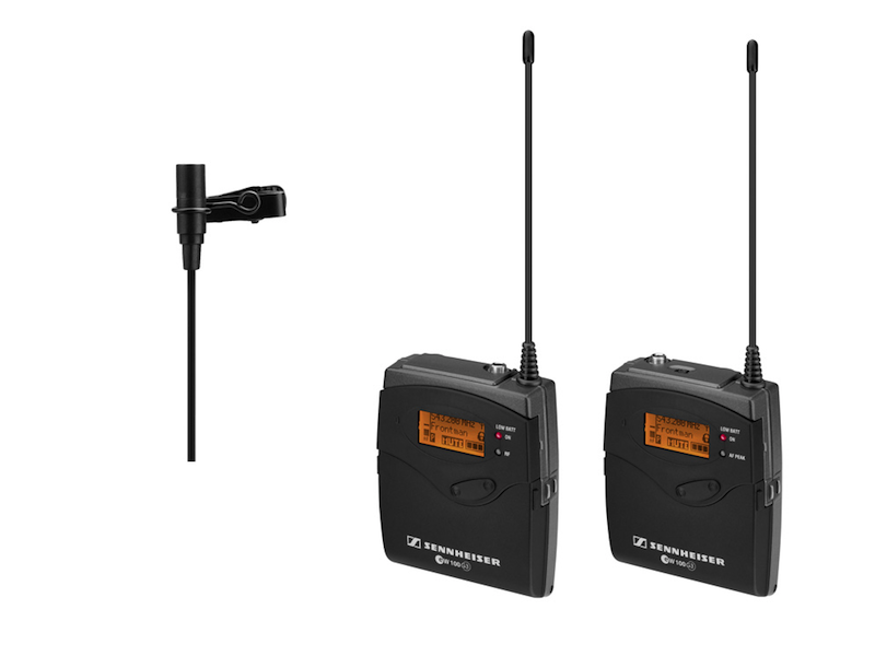 Sennhe  iser ew112 G3   ENG Wireless System with Transmitter/Receiver and ME 2 Clip-on Omni-directional Microphone