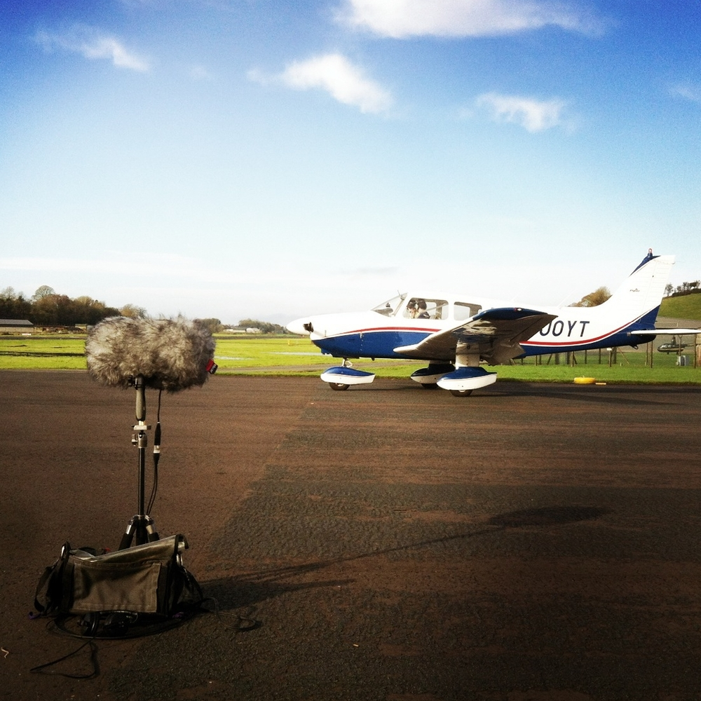 Piper PA 58-181 Ready for Departure, St Angelo Enniskillen (Sound Ark 2014)