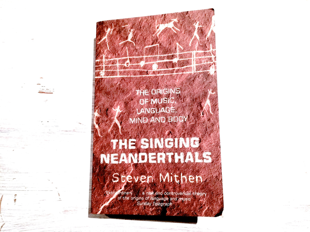 The Singing Neanderthals book