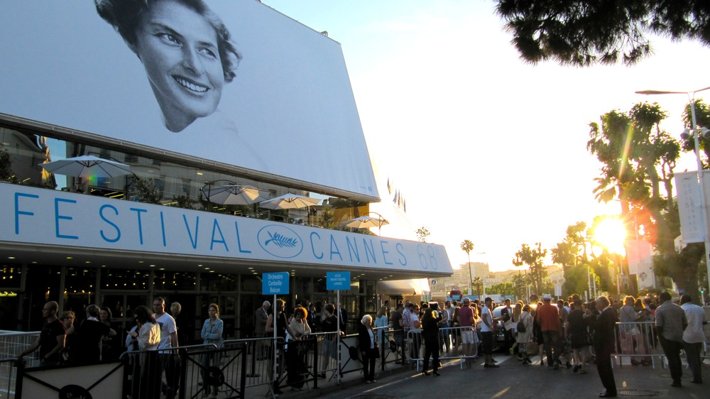 The poster at the 2015 Cannes Film Festival paid homage to Ingrid Bergman