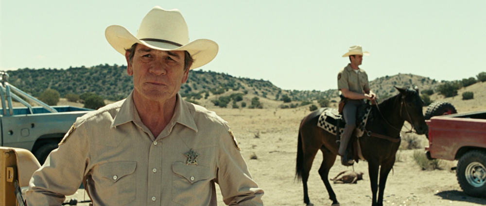 No Country For Old Men film frame Tommy Lee Jones