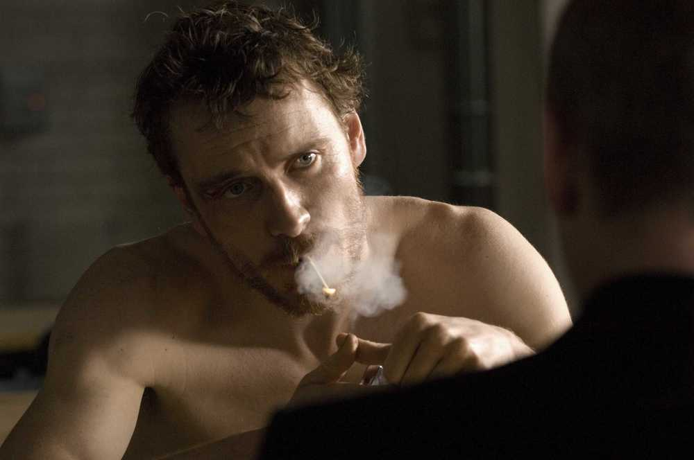 Still of Michael Fassbender in Hunger (2008)