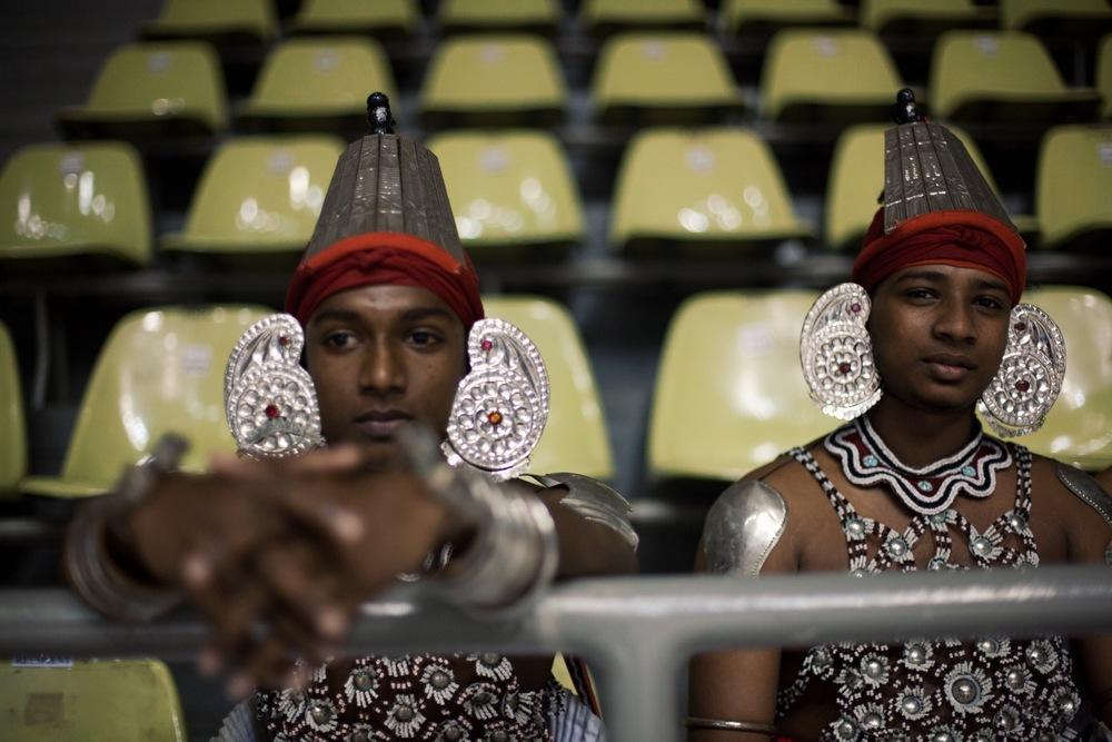Kandyan dancers (© Lee Bazalgette)