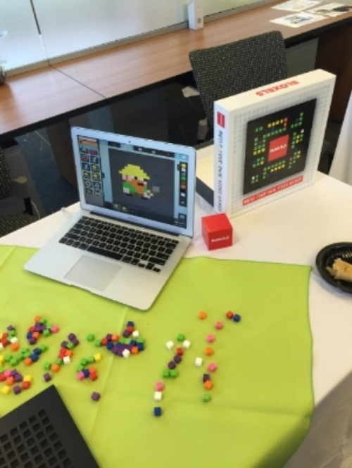 Bloxels is a new technology to teach kids to make their own video games.
