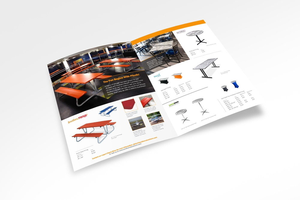 Southern Aluminum Brochure for Sky Zone. Inside