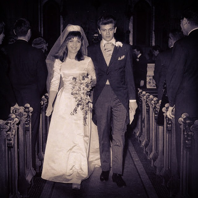Our film will explore a compelling moment in the great American story, the dawn of Rock n' Roll - when a new and unwieldy culture is born from the wounds of the past. Here is a photo of Jackie Ertel, daughter of the eldest #Chordette (Janet) marrying her first young love - Phil Everly of the Everly Brothers. We need your help to bring this amazing film to life right now. Please head to www.chordettes.org to help. #thechordettes #chordettes #nyfa #preserve #musichistory