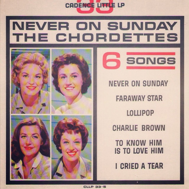 Gorgeous in color and b&w. #chordettes #thechordettes #nyfa