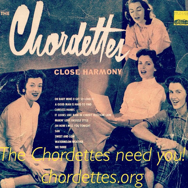 #thechordettes need your help! Please share this image and tag your friends to help us #preserve #musichistory. Head to chordettes.org for more info!! #chordettes #nyfa