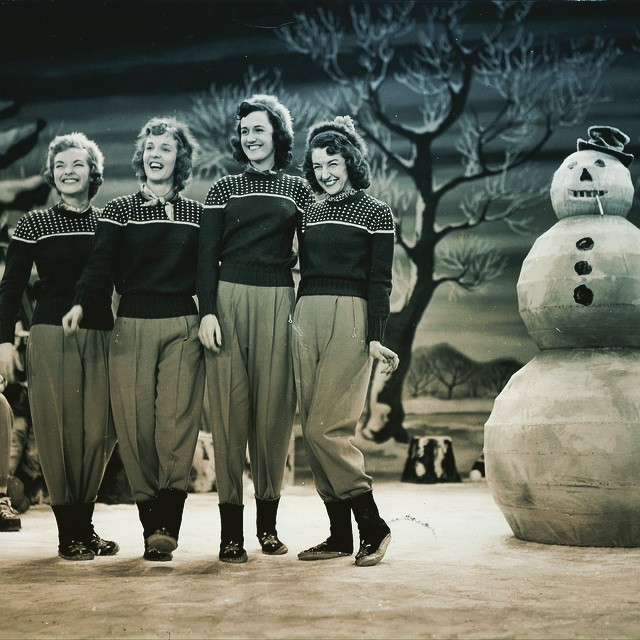 Happy Holidays from The Chordettes!!! ❄️⛄️❄️⛄️❄️⛄️❄️ Check out our new crowd funding campaign and give the gift of The Chordettes to your friends and family! http://www.rockethub.com/projects/50600-the-chordettes-project-final-reunion-film-development-research-fund.  #Chordettes #thechordettes #nyfa #peaceonearth #happynewyear #santa #snowman #letitsnow #holiday #cheer #love