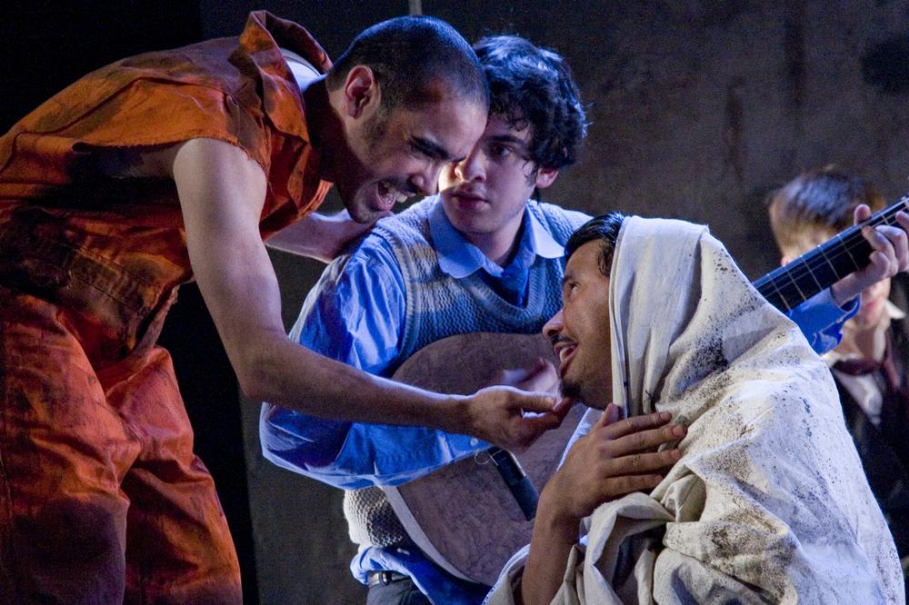 Ricardo Perez Gonzalez, Justin Levine and Kelvin Ortega