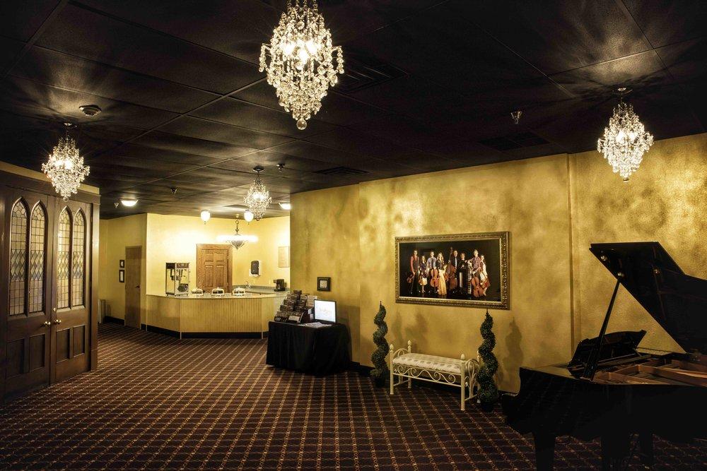 Lobby The Johnson Strings theater Branson MO.jpg