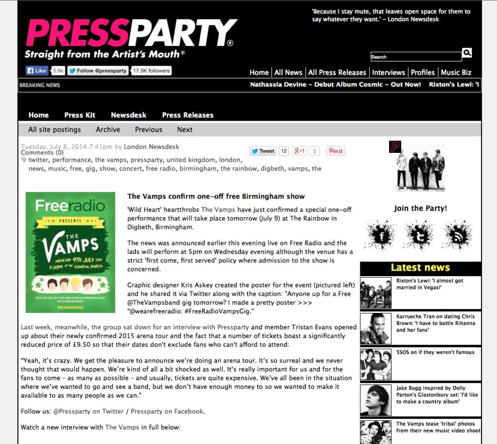 PressParty