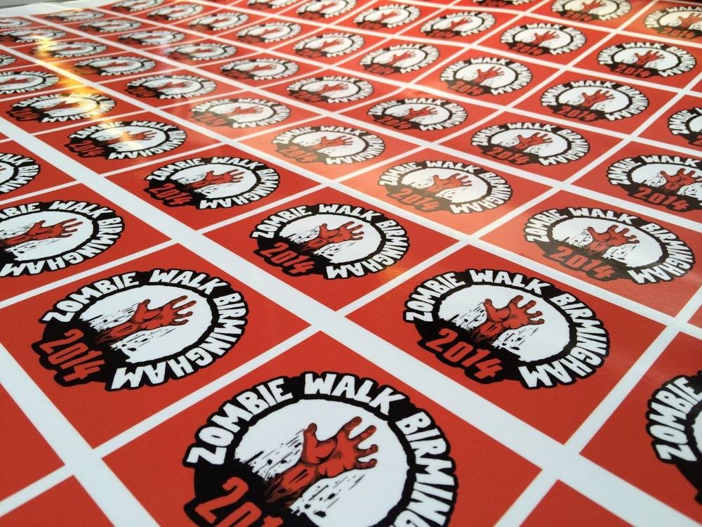 Zombie Walk 2014 Stickers