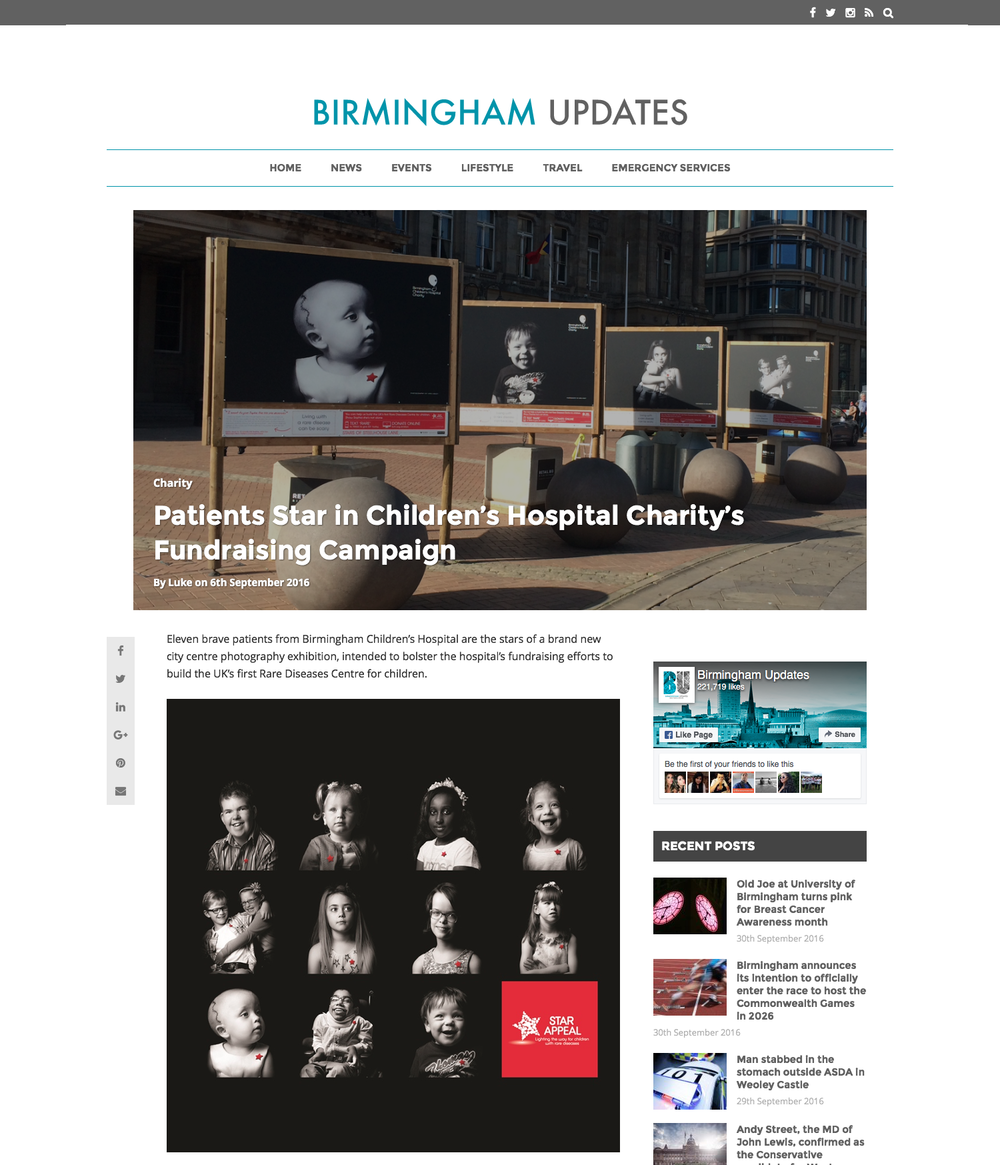Birmingham Updates Article