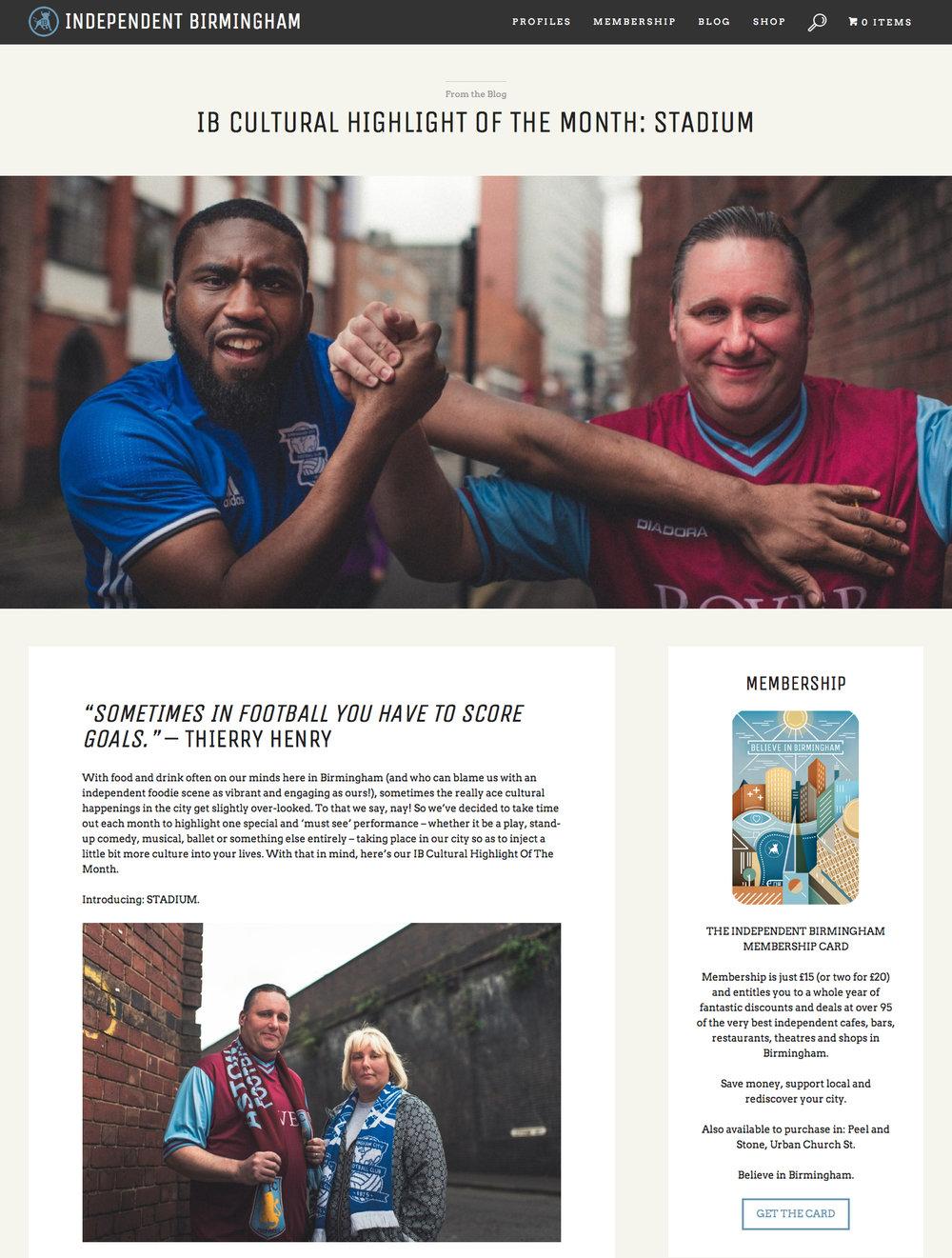 Independent Birmingham Website