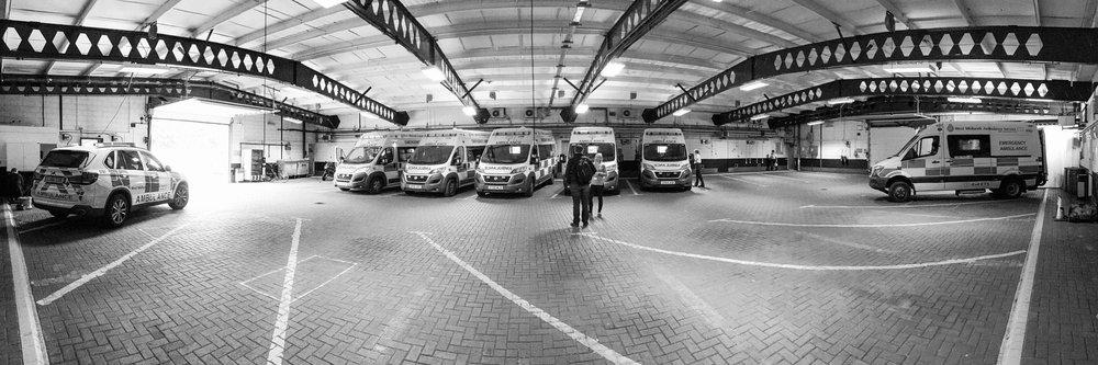 Dudley Ambulance Hub
